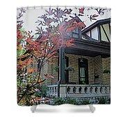 House In German Village Shower Curtain