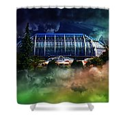 House In The Sky Shower Curtain