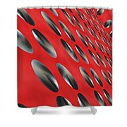 House Of Black Holes Shower Curtain