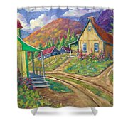 House Of Louis Shower Curtain