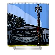 House Of Totem Shower Curtain