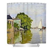 Houses On The Achterzaan Shower Curtain