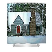 Howland House In Windsor Shower Curtain