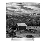 Hudson Valley Ny Fall Colors Shower Curtain