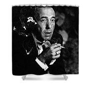 Humphrey Bogart Portrait #1 Circa 1954-2014 Shower Curtain
