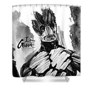 I Am Groot Shower Curtain