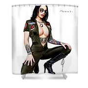 I Feel The Need Shower Curtain