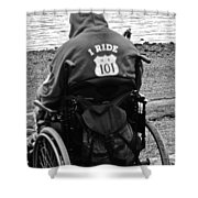 I Ride Shower Curtain