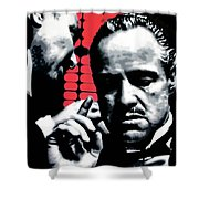I Want You To Kill Him Shower Curtain by Luis Ludzska