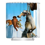 Ice Age The Meltdown 2006  Shower Curtain