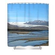 Iceland Landscape Shower Curtain