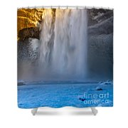 Iceland  Shower Curtain