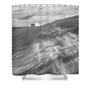 Iceland Winter Shower Curtain