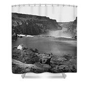 Idaho: Snake River Canyon Shower Curtain