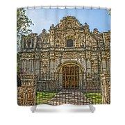 Iglesia San Jose El Viejo - Antigua Guatemala Hdr Shower Curtain