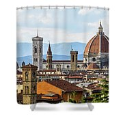 Il Duomo In Florence Shower Curtain
