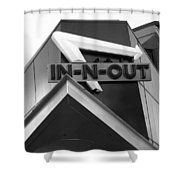 In-n-out Shower Curtain