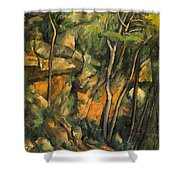 In The Park Of Chateau Noir Shower Curtain