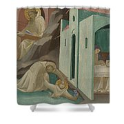 Incidents In The Life Of Saint Benedict Shower Curtain