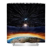 Independence Day Resurgence 2016  Shower Curtain