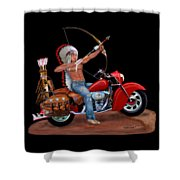 Indian Forever Shower Curtain