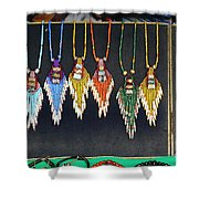Indigenous Arts And Crafts Shower Curtain