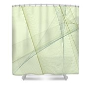 Industry Computer Graphic Line Pattern Shower Curtain