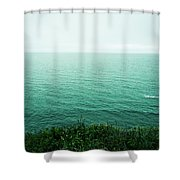 Infinite Sea Shower Curtain
