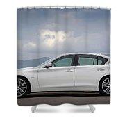 Infiniti Q50 Shower Curtain