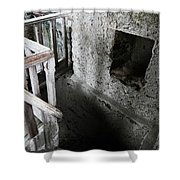 Inside The Castle Frankenstein Shower Curtain