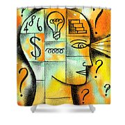 Knowledge And Idea Shower Curtain
