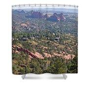 Intemann Nature Trail Shower Curtain