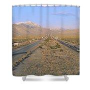 Interstate 15, Near Las Vegas, After Shower Curtain