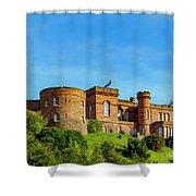 Inverness Castle, Scotland Shower Curtain