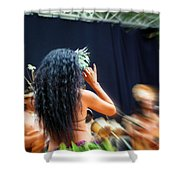 Island Beauty Shower Curtain