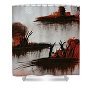 Islands In The Steam  Shower Curtain
