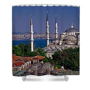 Istanbul's Blue Mosque Shower Curtain