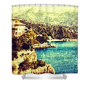 Italian Riviera Shower Curtain
