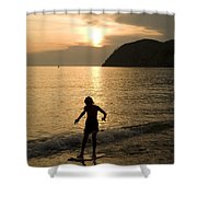 Italian Sunsets Shower Curtain
