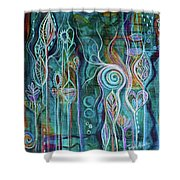Itty Bitty Fun Shower Curtain