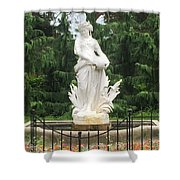 Ivory Lady Shower Curtain