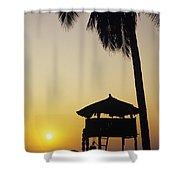 Ixtapa Sunset Shower Curtain