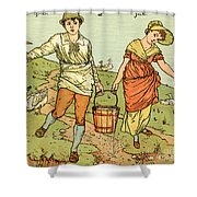 Jack And Jill Shower Curtain