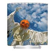 Jack-o-lantern Man Shower Curtain