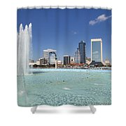 Jacksonville Florida  Shower Curtain