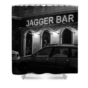 Jagger Bar In Ufa Russia Shower Curtain