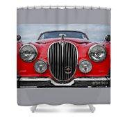 Jaguar Mark 2 Shower Curtain