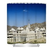 Jain Temple Of Ranakpur Shower Curtain