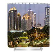 Jakarta Twilight Shower Curtain
