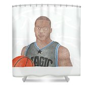 Jameer Nelson Shower Curtain by Toni Jaso